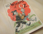The Wizard Of Oz  Paper Back From 1956