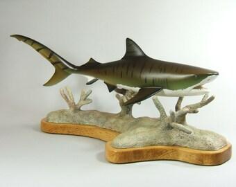 Tiger Shark Sculpture