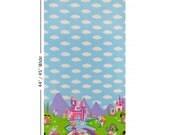 Michael Miller Princess Charming Fairy Tale Unicorn Border Print Fabric
