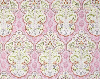 Sundara Oasis Fabric by Dena Designs for Free Spirit/Westminster Yasmina Floral Flowers and Damasks in Pink