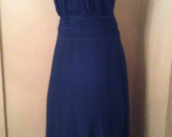 Blue Marilyn Party Dress