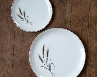 Royal Joci 24k gold Wheat Decor Plates