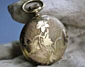 Arnex Lucerne Pocket Watch Pendant Gold Fill