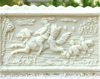 Easter Rabbit Express Cookie or Craft Mold