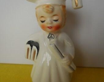 Vintage Graduation Figurine
