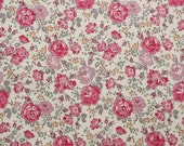 Liberty tana lawn printed in Japan - Felicite - Rose gray mix