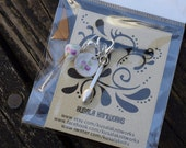 Crochet and Knit Stitch Markers - Set of Three