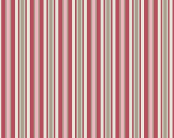 Cotton Forest TE1055R Stripes in Red