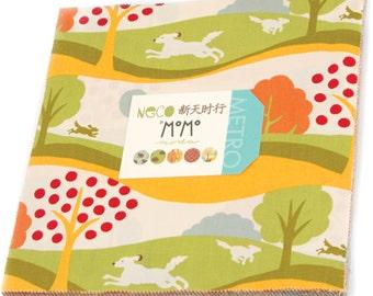 """NECO Layer Cake by Momo for Moda Fabrics 16130LC 42 10"""" Fabric Squares"""