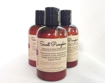 Sweet Pumpkin Body Lotion - Coconut Milk & Aloe Body Lotion with Cocoa Butter