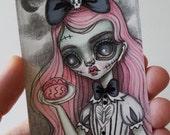 Original Mini Drawing--Zombie