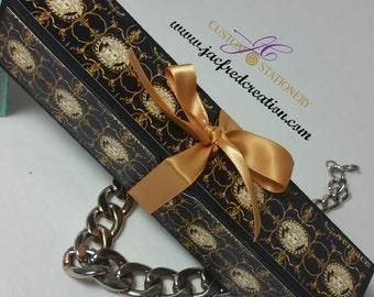 Designer inspired Gold and Black box (8)