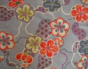 Japanese Furoshiki Lavender Ume Flower /Japanese Fabric/ Free Traking and shipping