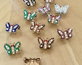 A Plethora Of Tiny Butterfly Pins
