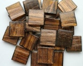 "25 3/4"" Tiger's Eye Golden Brown with Gold Streaked Glass Mosaic Tiles//Mosaic Supplies//Mosaic"