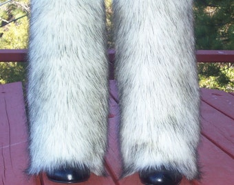 Attractive Faux Fur Leg Muffs