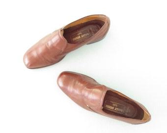 Vintage Men's Shoes * Bally Suisse Belfit * 80s Leather Shoes * Mens 9 E