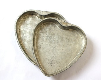 Heart Pans 60s Cake by OVENEX