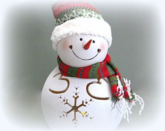 Christmas Snowman Decor Holiday Snowman Decoration Xmas