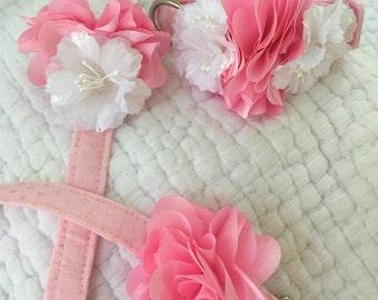Wedding Dog Leash and Collar Set