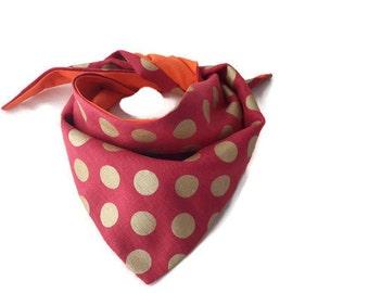 Dotty Dogs! (Medium) – Dog Bandana/ Bandana/ Pet Bandana/ Pet accessory / Dog accessory