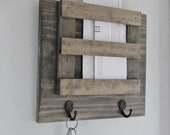 Mailbox, Mail, Mail Organizer, Key Holder, Rustic, Letters, Magazines, Reclaimed Wood, Farmhouse, Barn, Woodwork, Keys, Home Decor