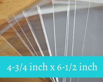 50 Self-Sealing Cello Bags/ card packaging/ sticker packaging/ picture packaging