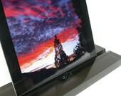 iPad Pro Stand, Groove-Smoke, Modern Minimalism at its Best