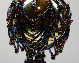 176. Beaded Ornament Cover