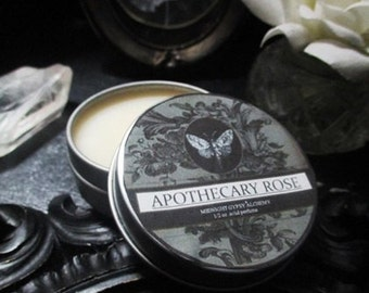 Apothecary Rose Natural Solid Perfume Gypsy Apothecary  Rose , Amber