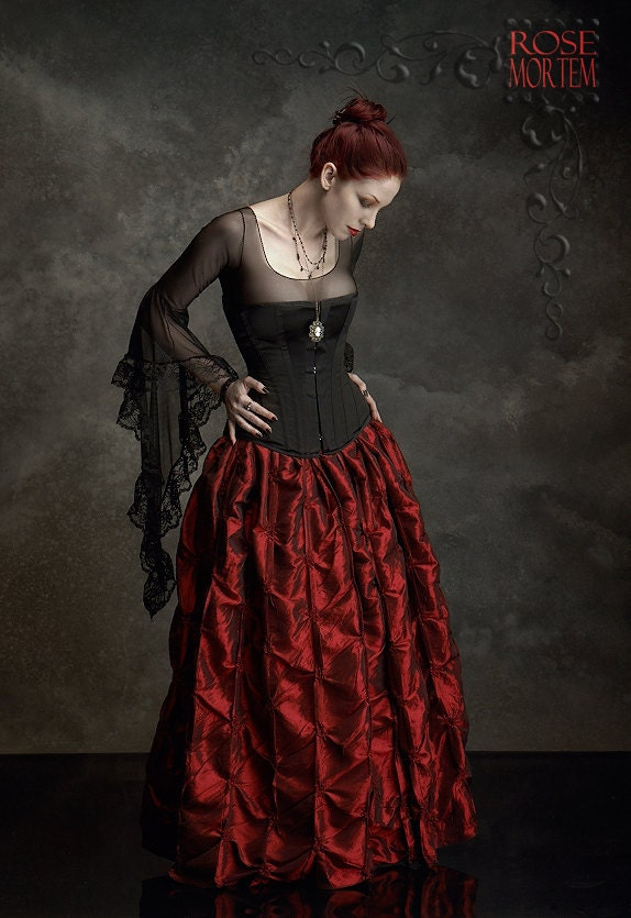 Lavinia Mesh Top by Rose Mortem