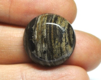 Natural Jasper Round Cabochon - 20.1 x 7.3 mm - 25.3 ct - 151212-33