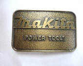 Awesome Makita Power Tools Belt Buckle