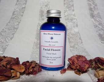 Facial Flowers Clay Mask