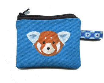 Walter the Red Panda Coin Purse by SBMathieu