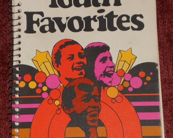 "VIntage Booklet ""Youth Favorites""-1963-Singspiration"