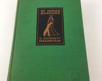 Antique Of Human Bondage Book 1915