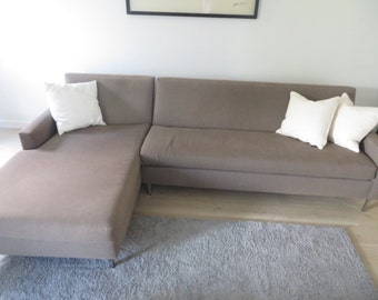 MID CENTURY MODERN Style L-Shaped Sectional (Los Angeles)