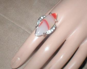 Huge Vintage Costume Ring