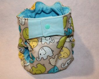 Custom design all in one cloth diapers (AIO):