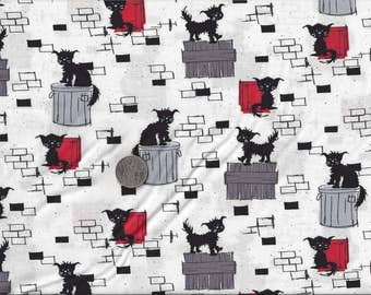 Alley Cat I Spy Tom Cats Fabric By the Fat Quarter