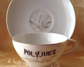Harry Potter Inspired Polyjuice Tea Cup Saucer Set