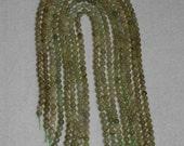 Green Garnet, Green Garnet Round, Smooth Round Bead, Natural Stone, Olive Green, Semi Precious Bead, Full Strand, 6mm, AdrianasBeads