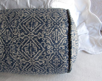 DAYBED size Large bolster 8x30 in priya indian blue fabric