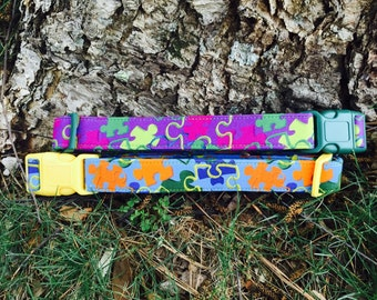 Autism is Awesome Dog Collars