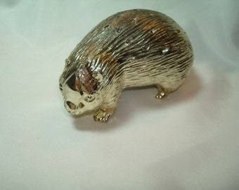 1960s 1970s Silver BEAVER Hors D'Oeuvres Holder