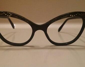 Vintage 1940s Cateye Glasses