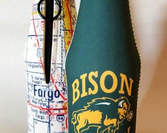 Bottle Cooler NDSU Bison Nation