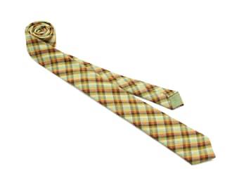 Happy Camper Gingham Necktie