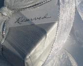 Two Custom Fine Silver Bracelets